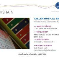 Taller de Iniciacin Musical Temprana - MaMis Friedrichshain