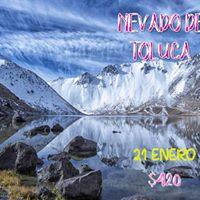 Nevado de Toluca sube a buscar la nieve