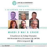 LAcadmie-Longueuil en 5 confrences