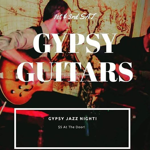Gypsy Guitars At Conundrum Speakeasy