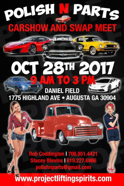 Polish N Parts Car Show And Swap Meet At Daniel Field Augusta - Car show augusta ga