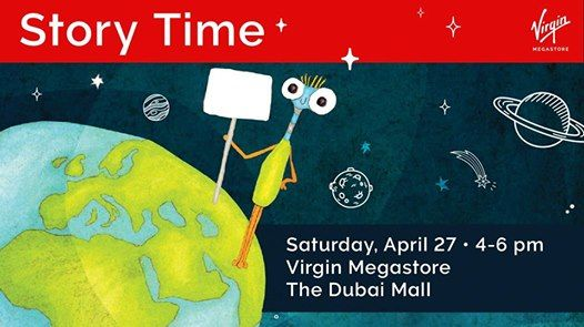 Its Spring Story Time with Virgin Megastore & Magic Phil! at