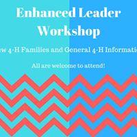 Enhanced Leader Workshop New 4-H Families
