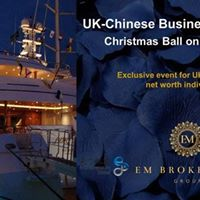 UK-Chinese Business &amp Investors Christmas Ball on the Thames