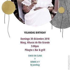 Cumpleanos De Yolanda At Pikaytos Bar Grill Rio Grande