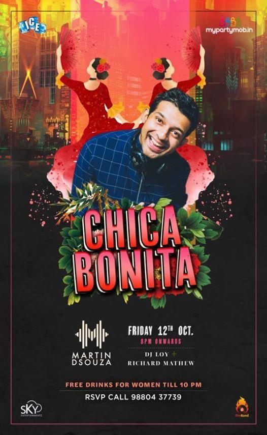 CHICA BONITA Ladies Night at ICE TAJ MG Road