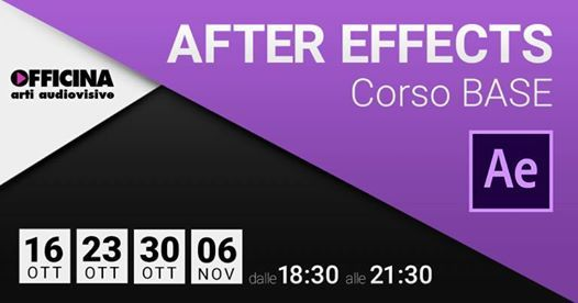 After Effects  Corso Base