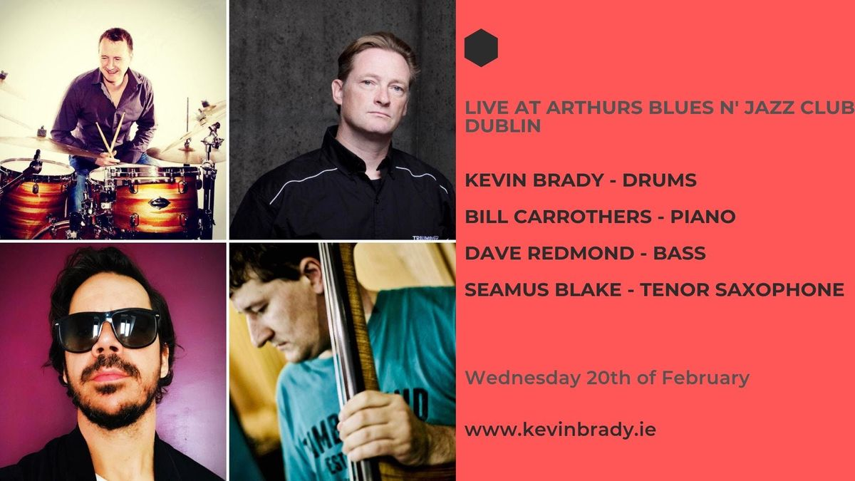 The Kevin Brady Trio featuring Bill Carrothers & Seamus Blake