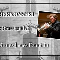 Novemberkonsert med James Fountain