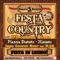 Sabato 05.08.2017 3 Misinto Country - Misinto(MB)