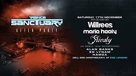 Trance Sanctuary After Party November 2018