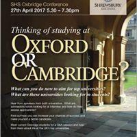 SHS Oxbridge Conference