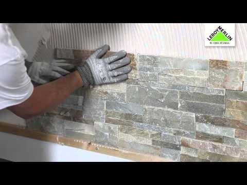 Posare le piastrelle da rivestimento e i mosaici decorativi at