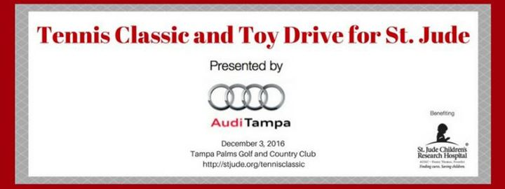 Tennis Classic And Toy Drive For St Jude At Audi Tampa Tampa - Audi tampa