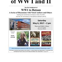 WW I to Bataan Discussion Series featuring Kathy Atwood