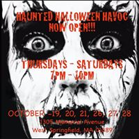 Agawam Day 25% off Admission at Haunted Halloween Havoc