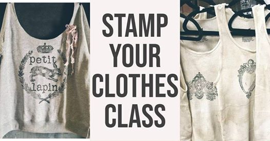 Stamp Your Clothes Class