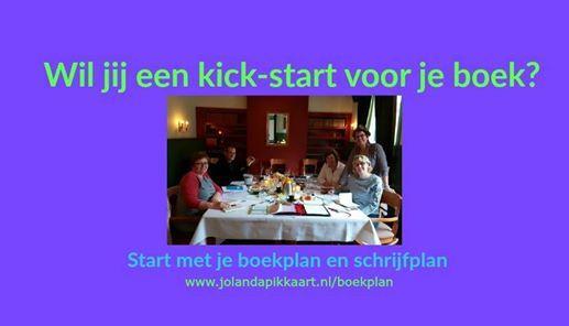 Jouw boekplan en schrijfplan voor een kick-start van je boek