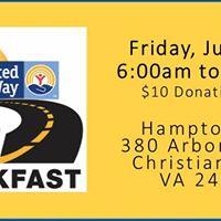 United Ways 3rd Annual Drive-thru Breakfast Fundraiser