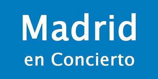 Madrid en Concierto del 21 al 27 de Enero 2019