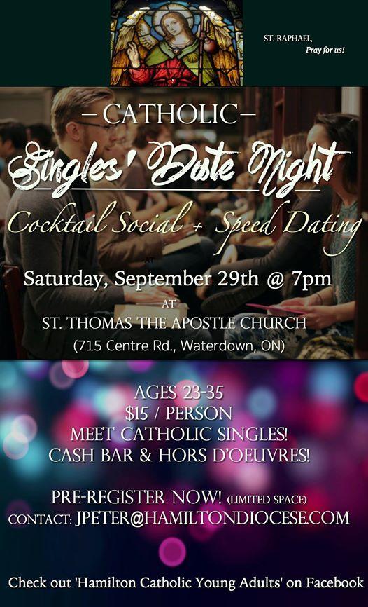 Catholic singles canada