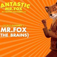 Big Backyard Movies Fantastic Mr.Fox
