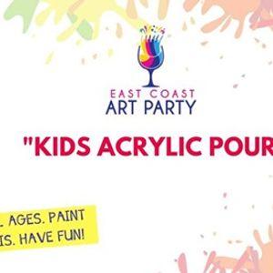 Art Party 0602 - &quotKids Acrylic Pour&quot - Charlottetown