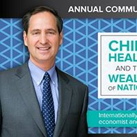 Free Community Lecture Child Health and the Wealth of Nations