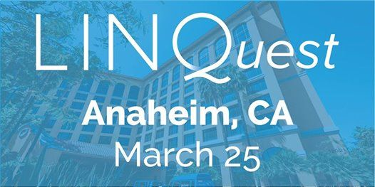 2019 LINQuest Conference- Anaheim