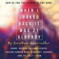 Book launch - Keerthana Swaminathan