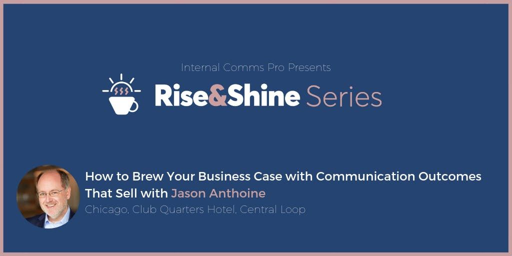 How to Brew Your Business Case with Communication Outcomes That Sell