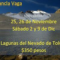 Caminata al Nevado de Toluca y lagunas 350 por persona