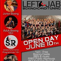 Left Jab Boxing &amp Conditioning Open Day