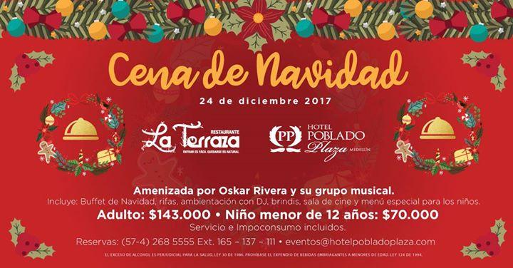 Cena de Navidad at Hotel Poblado Plaza, Medellín