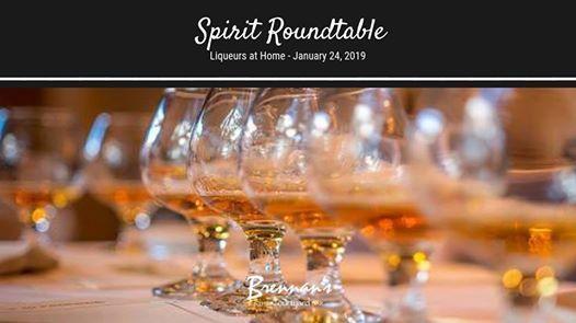 Spirit Roundtable - Liqueurs for the Home Bar