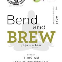Bend and Brew with Synergy Yoga