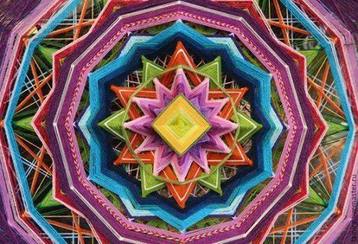 Kalbin arks Mandala Dokuma emberi-Kadky