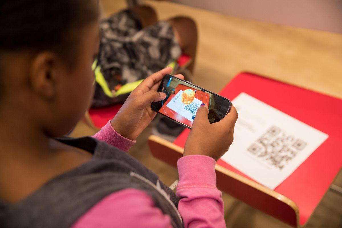 Verizon Learning Lab Augmented Reality (Cincinnati OH)
