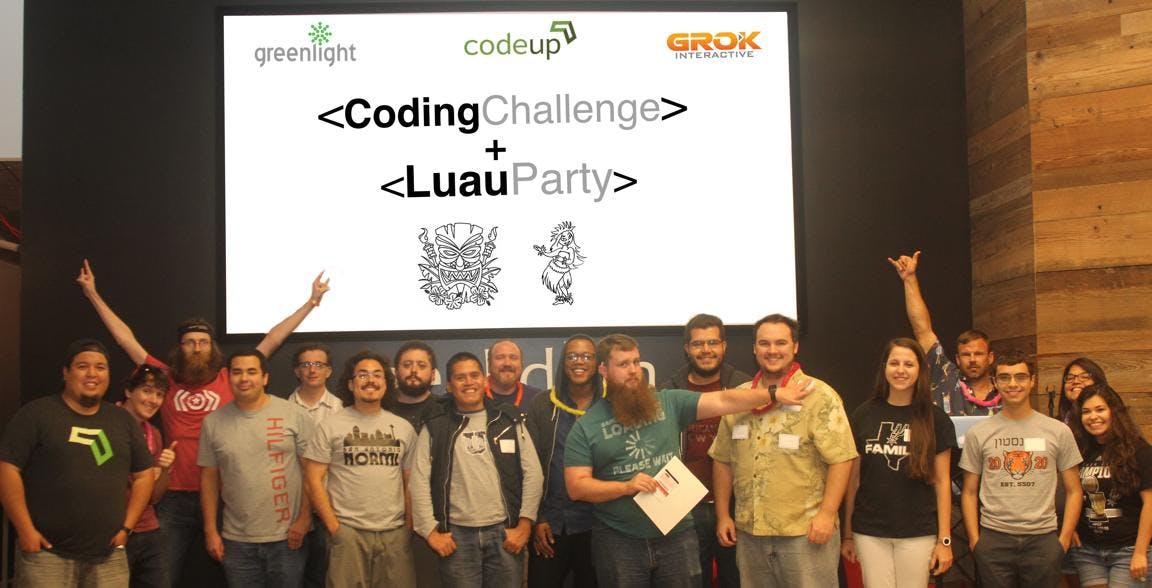 Third Annual Coding Challenge Luau