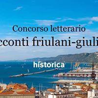 Seconda edizione concorso letterario Racconti Friulani-Giuliani