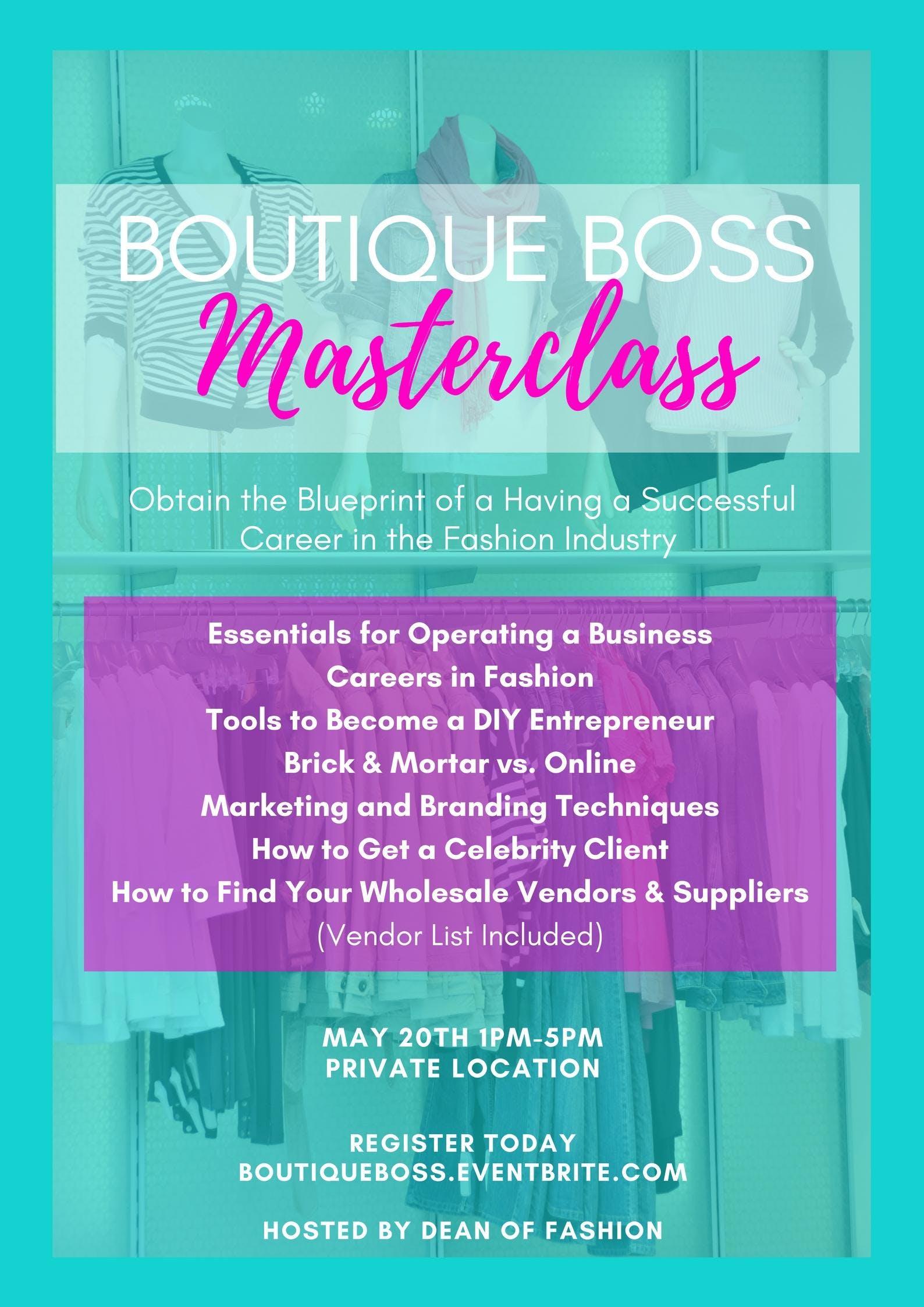 Boutique boss masterclass at tba memphis boutique boss masterclass malvernweather Choice Image