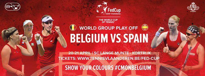Fed Cup Belgi-Spanje