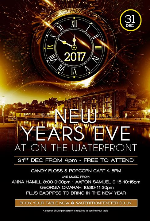 New Years Eve at On The Waterfront