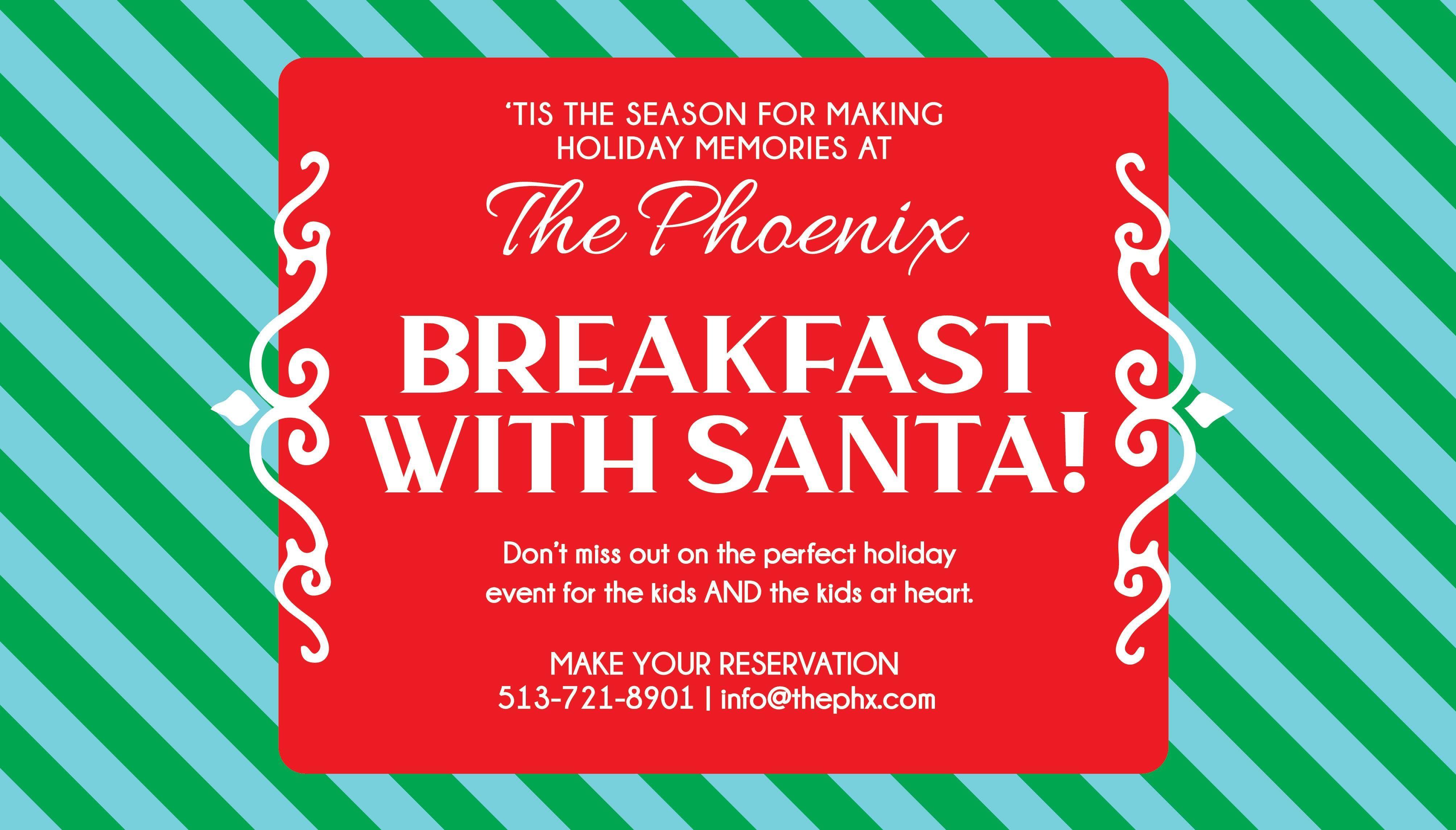 Breakfast with Santa at The Phoenix