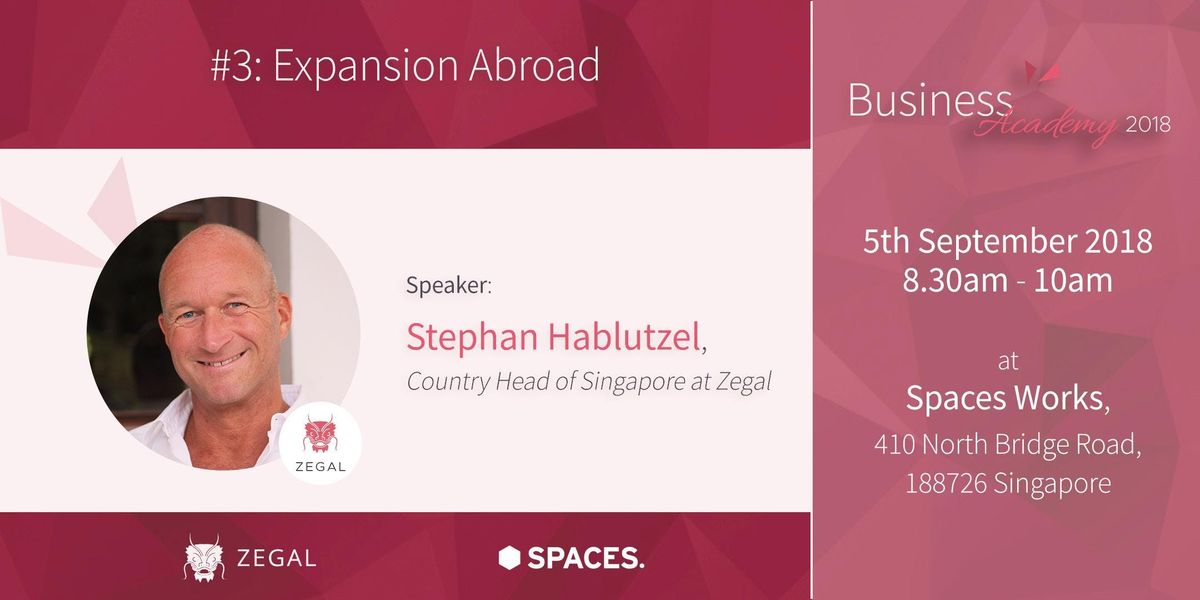 Zegal Business Academy 3 - Expansion Abroad
