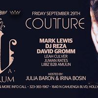 La Verum featuring Mark Lewis Dj Reza &amp guests
