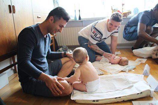 Babymassageworkshop for fdre par og mdre