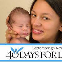 40 Days for Life Pgh Kickoff Event