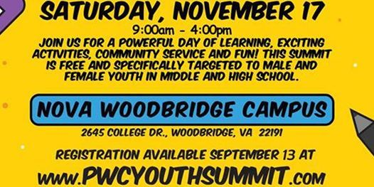 2018 Youth Summit And Technology Expo At Northern Virginia Community