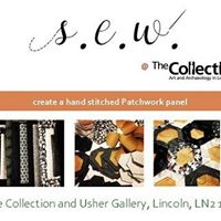 Sew - Create a hand stitched patchwork pannel